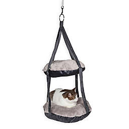Pet Life™ Kittyhaus Dual Cat Hammock Lounger
