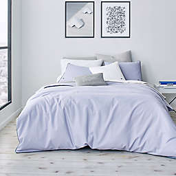 Lacoste Gorbio 2-Piece Twin/Twin XL Duvet Cover Set in Icelandic Blue