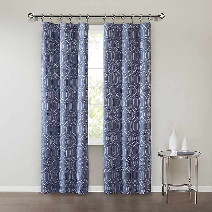 Alternate image 1 for SALT™Clancy 2-Pack Rod Pocket Window Curtain Panels