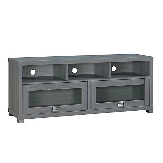 Alternate image 1 for Techni Mobili Durbin TV Stand in Grey