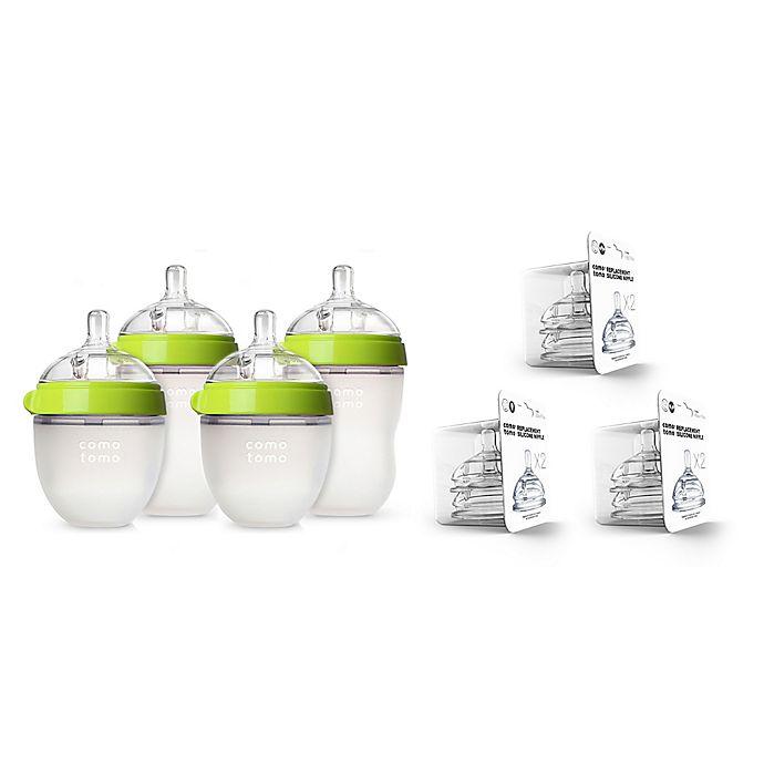 Alternate image 1 for comotomo® 7-Piece Baby Bottle Gift Set