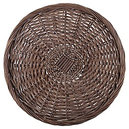 Bee & Willow™ Home Wicker Charger Plate in Grey