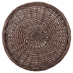 Bee & Willow™ Wicker Charger Plate in Grey