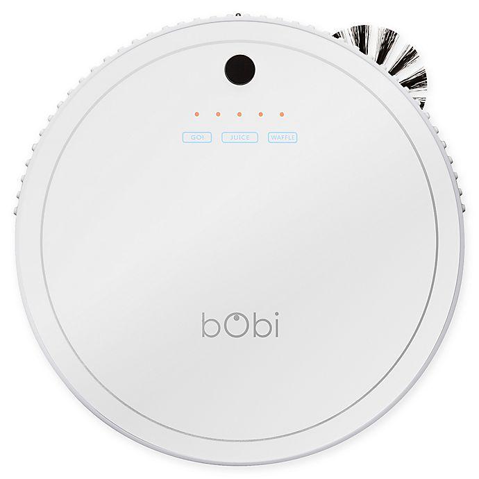 Alternate image 1 for bObi Classic™ Robotic Vacuum Cleaner in Snow