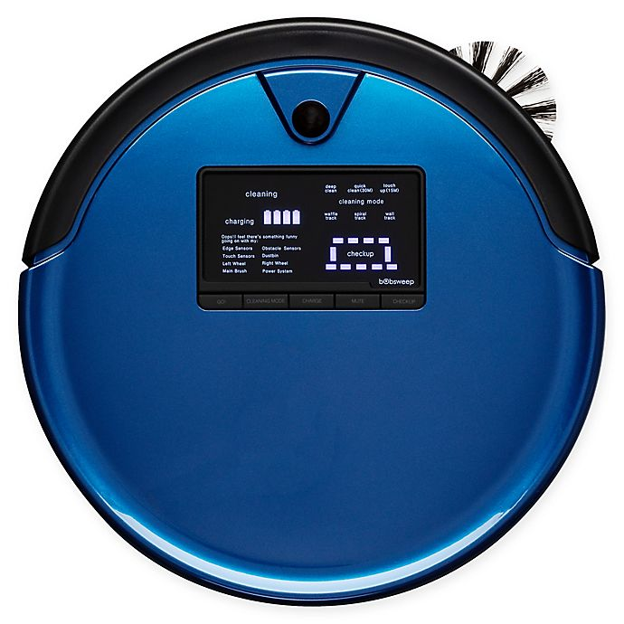 Alternate image 1 for bObsweep PetHair Plus Robotic Vacuum Cleaner and Mop