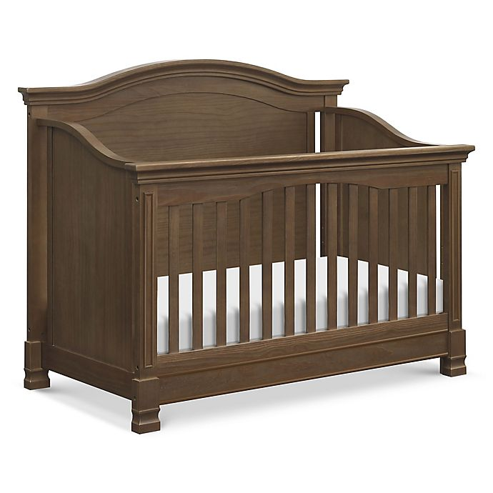 Alternate image 1 for Million Dollar Baby Classic Louis 4-in-1 Convertible Crib in Mocha