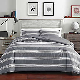 Nautica® Craver Twin XL Comforter Set in Charcoal