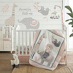 Levtex Baby® Imani 4-Piece Crib Bedding Set in Pink/Grey
