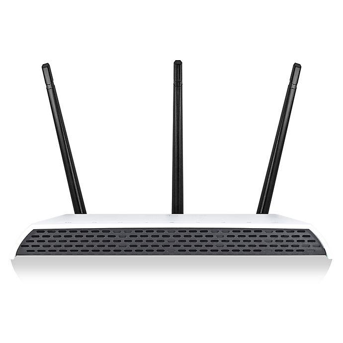 Alternate image 1 for Amped Wireless High Power AC1750 Wi-Fi Range Extender in White/Black