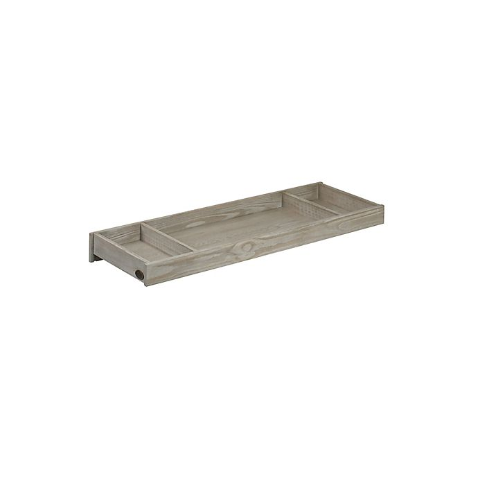 Alternate image 1 for Soho Baby Hanover Changing Topper in Oak/Grey