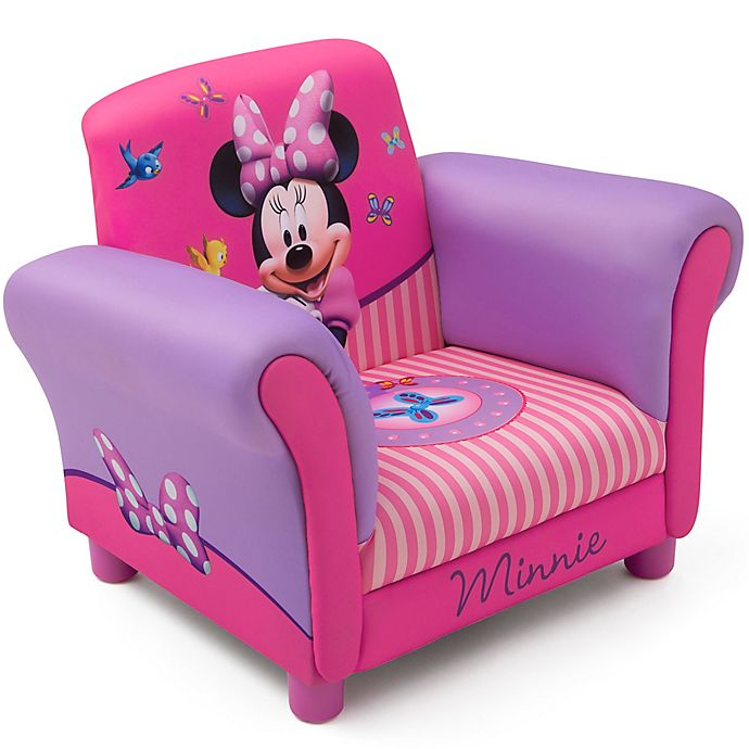 Delta Children Disney® Minnie Mouse Kids Upholstered Chair