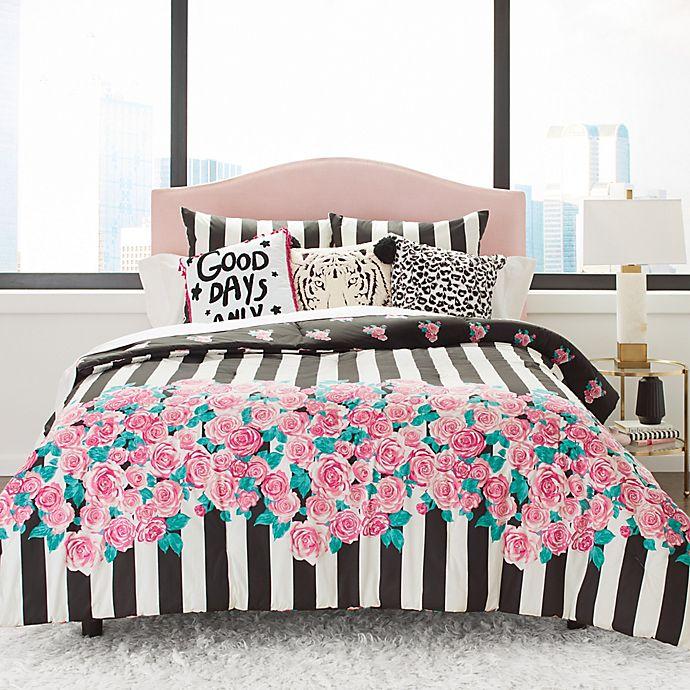 Betsey Johnson Romantic Roses, Betsey Johnson Bedding Set