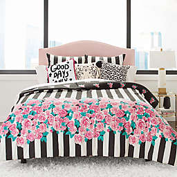Betsey Johnson® Romantic Roses Full/Queen Comforter Set