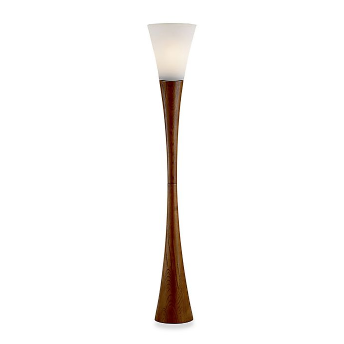 Alternate image 1 for Adesso® Espresso Floor Lamp