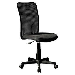 Techni Mobili Mesh Task Office Chair in Black