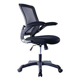 Techni Mobili Task Office Chair in Black
