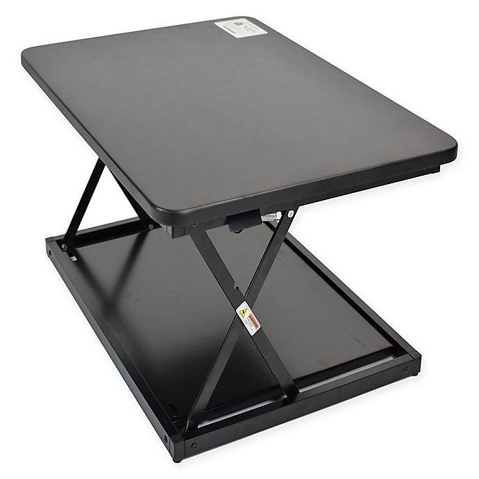 Alternate image 1 for Uncaged Ergonomics CHANGEdesk Mini Standing Desk Conversion in Black