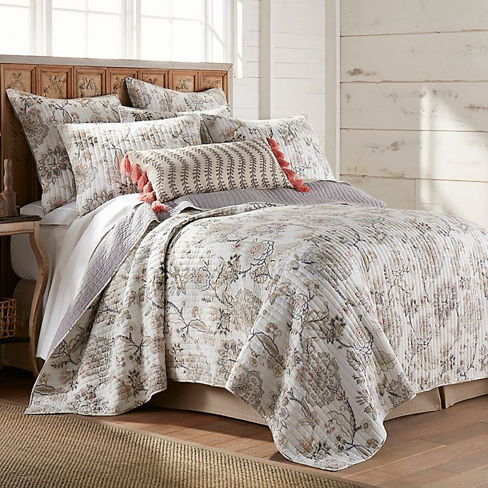 Alternate image 1 for Bee & Willow™ Terra Rosa 3-Piece Reversible Full/Queen Quilt Set in Blush/Ivory