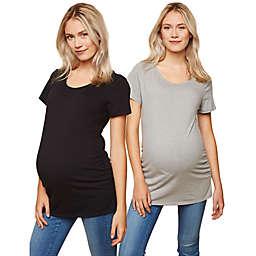 Motherhood Maternity® 2-Pack BumpStart Maternity T-Shirts