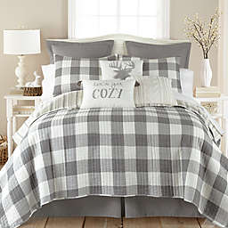Levtex Home Camden 3-Piece Reversible King Quilt Set in Grey