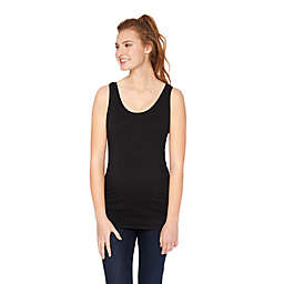 Motherhood Maternity® Side Ruched Maternity Tank Top