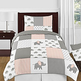 Sweet Jojo Designs® Elephant Patch Bedding Collection