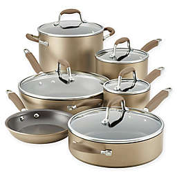 Anolon® Advanced™ Home Hard-Anodized Nonstick 11-Piece Cookware Set in Bronze