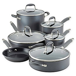 Anolon® Advanced™ Home Hard-Anodized Nonstick 11-Piece Cookware Set