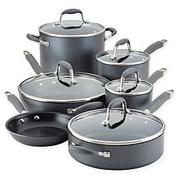 Anolon® Advanced™ Home Hard-Anodized Nonstick 11-Piece Cookware Set in Moonstone