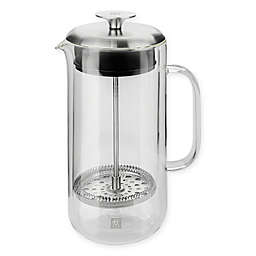 Zwilling® J.A. Henckels Sorrento Plus 27 oz. French Press in Clear/Silver