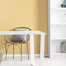 Roommates® Caining Peel & Stick Wallpaper in Yellow