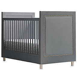 Simmons Kids Avery 3-in-1 Convertible Crib in Charcoal Grey by Delta Children