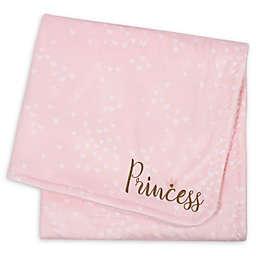 """Gerber® """"Princess"""" Plush Blanket in Pink"""