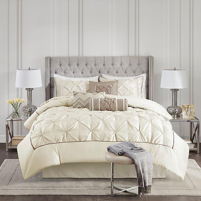 Alternate image 1 for Madison Park Laurel 7-Piece Comforter Set
