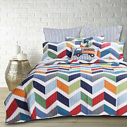 Levtex Home Dominik 3-Piece Reversible Quilt Set