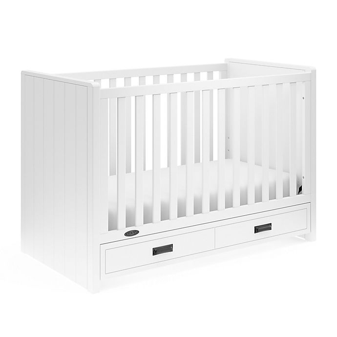 Alternate image 1 for Graco® Cottage 3-in-1 Convertible Crib