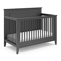 Storkcraft™ Solstice 4-in-1 Convertible Crib in Grey