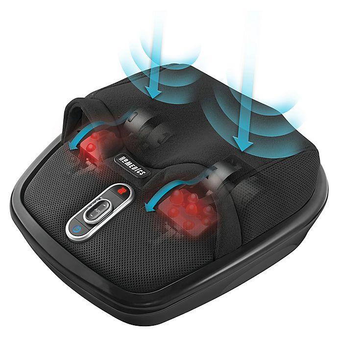 Alternate image 1 for HoMedics® Shiatsu Air Max Deep Kneading Foot Massager with Heat