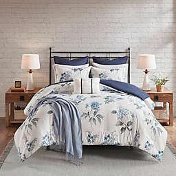 Madison Park Zennia Printed Seersucker 7-Piece King/California King Comforter Set