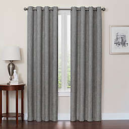 Quinn 108-Inch Grommet Top 100% Blackout Window Curtain Panel in Graphite (Single)