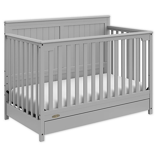 Alternate image 1 for Graco® Hadley 4-in-1 Convertible Crib with Drawer