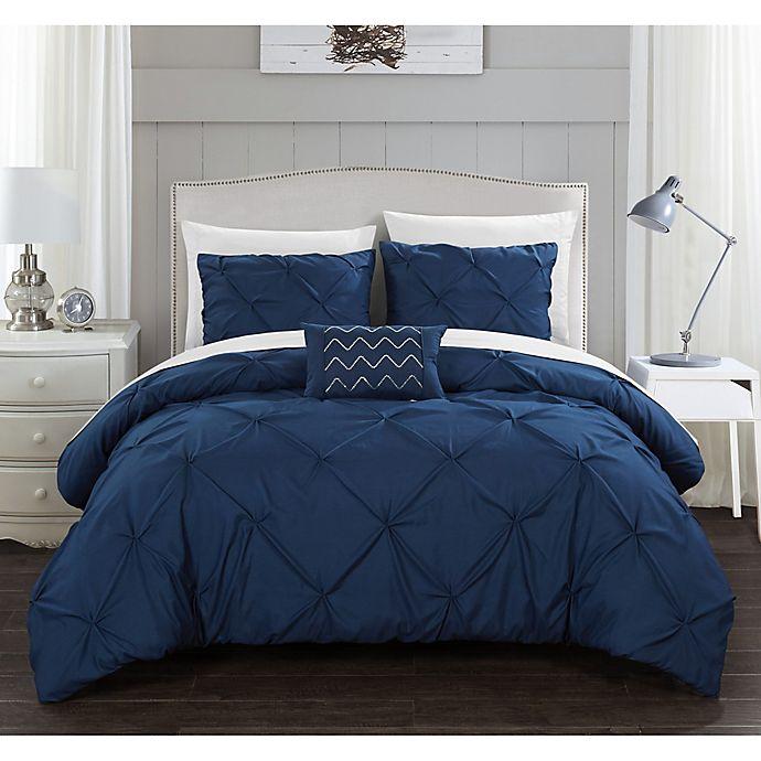 Alternate image 1 for Chic Home© Weber 4-Piece Comforter Set