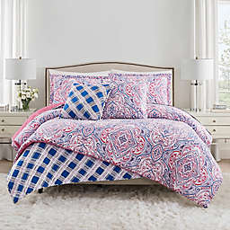 Isaac Mizrahi Home Natalia 3-Piece Full/Queen Comforter Set