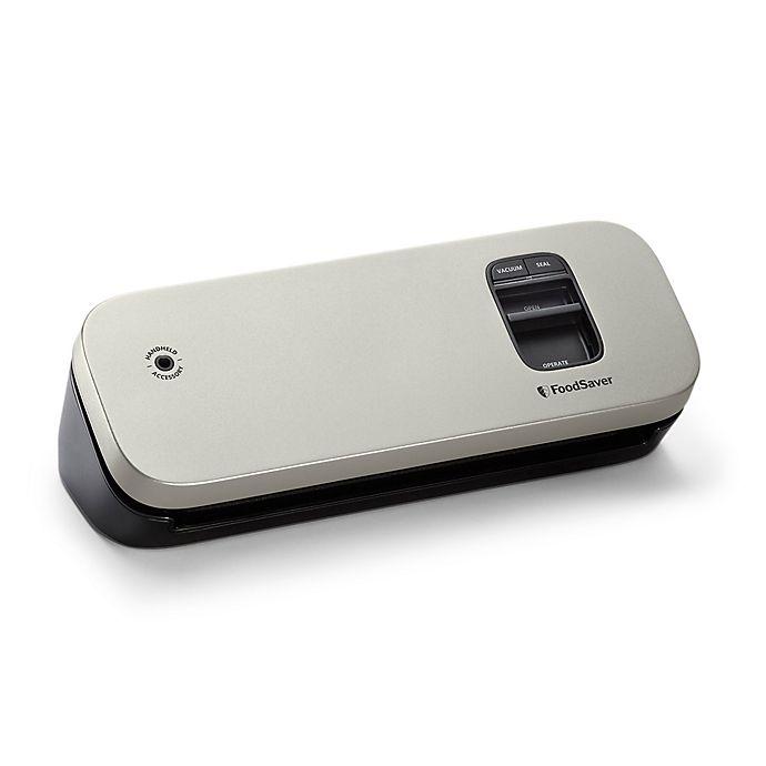 Alternate image 1 for FoodSaver® Compact Food Vacuum Sealer