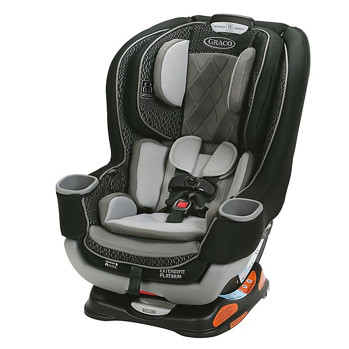 Alternate image 1 for Graco® Extend2Fit® Convertible Car Seat in Hurley