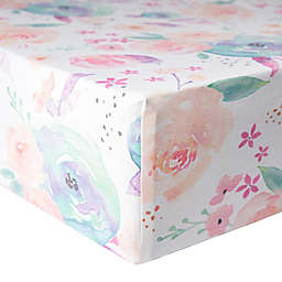Copper Pearl™ Bloom Premium Fitted Crib Sheet