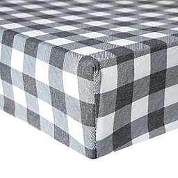 Copper Pearl Scotland Premium Fitted Crib Sheet in Plaid