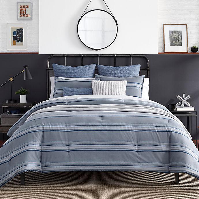 Alternate image 1 for Nautica® Eastbury Duvet Cover Set in Grey