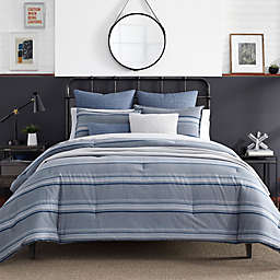 Nautica® Eastbury Full/Queen Duvet Cover Set in Grey