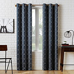 Sun Zero® Kenwood Chevron Room Darkening Window Curtain Panel